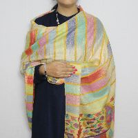 Multi-Colored Kani Pashmina Shawl