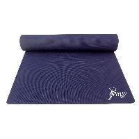 Premium Quality Navy Blue Yoga Mat for Gym, Workout