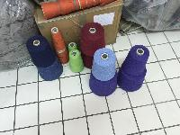 various coloured yarns