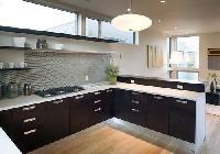 L Shaped Modular Kitchen Designing Services