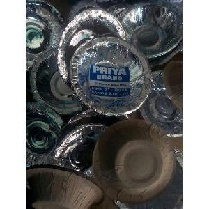 Silver Laminated Paper Bowl