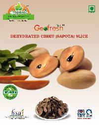 Dehydrated Chiku Slice (sapota)