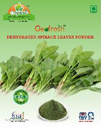 Dehydrated Spinach Leaves Powder