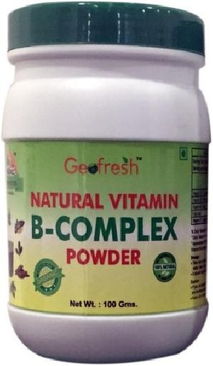 Natural Vitamin-B Complex Powder