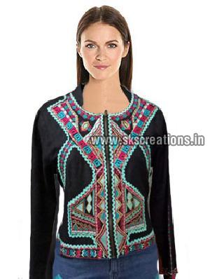 Multi Colour Embroidery Jacket