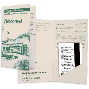 Paper Key Card Folders