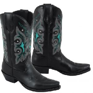 Ladies Snip Toe Western Boots