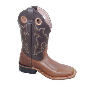 Round Toe Leather Shoe