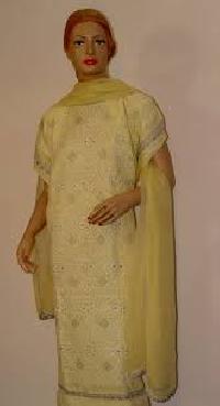 Semi Stitch Salwar Suit