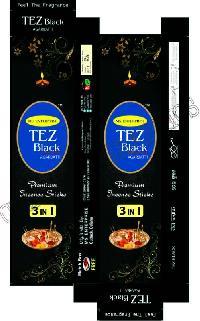 Tez Black Incense Sticks