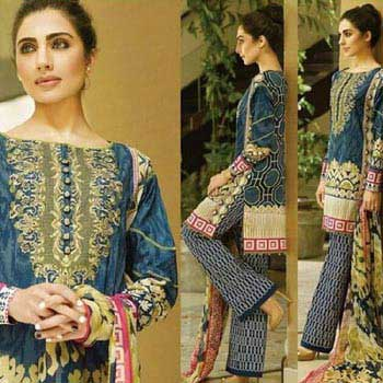 abb5c35718 Pakistani Lawn Suits - Manufacturers, Suppliers & Exporters in India