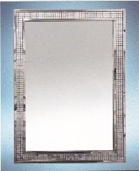 Stainless Steel Mosaic Frame Mirror