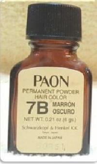 Paon Permanent Powder Hair Color