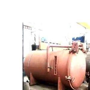 Frp Horizontal Chemical Storage Tank