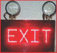 XIT SIGNS EMERGENCY LIGHTS