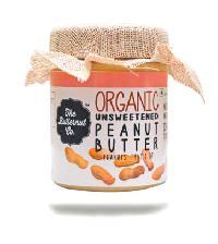Organic Unsweetened Peanut Butter