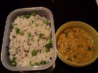 Ready To Eat Dal Tadka With Peas Pulav