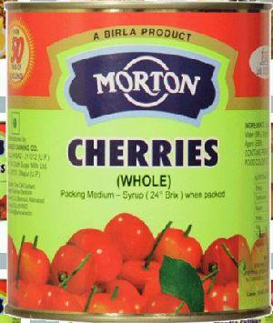 Morton 850gm Whole Cherry