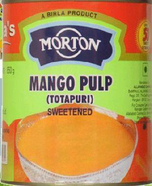 Morton Totapuri Sweetened Mango Pulp