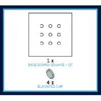 Cf 12 Inches Square Base Board