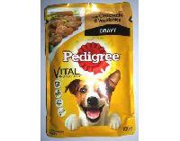 Pedigree Adult Pouch Chicken Vegatables Gravy Dog Food