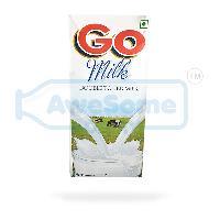 Go Milk Double Toned Milk 1 litre, 12 Packets