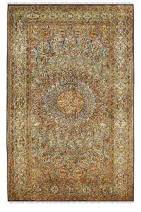 Gold Chakra Ardabil carpet