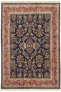Jhoomar Motif kashan design handmade  carpet