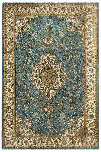 Neel Medallion Kashan carpet