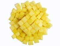 Frozen IQF Dice Pineapple