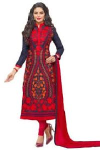 Semi Stitched Churidar Suits