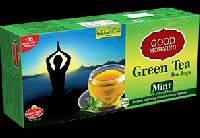 Good Morning Green Tea Mint Tea Bags