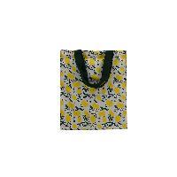 Cotton Lemon Printed Carry Bag