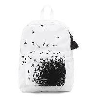 Cotton Printed Backpack Bag