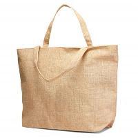 Jute Plain Beach Bag