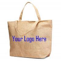 Jute Printed Beach Bag