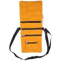 Jute Yellow Dyed Sling Bag