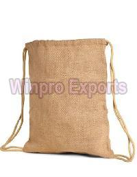 Jute Backpack Bag