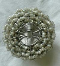 Glass  Beads weaving door knob