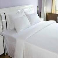 plain bed sheet