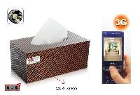 Hidden Car Tissue Paper Box Camera