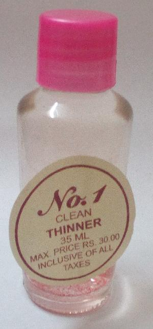 No.1 Clean Nail Polish Thinner