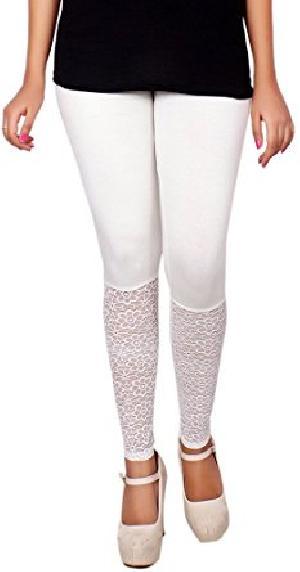 Ladies Half Lace Leggings