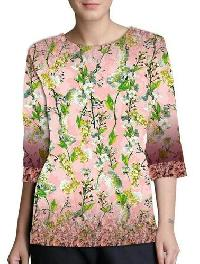 Printed Cotton Top