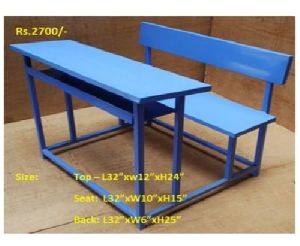 Blue Colored School Desk
