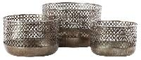 Traditional Metal Basket