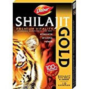 Dabur Shilajit Gold - 20 Capsules