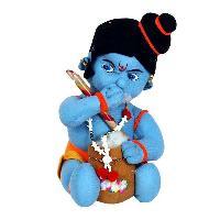 Soft Toys Blue Stuffed Krishna For Kids