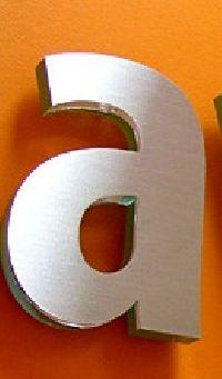 Acp Based Brass Letter