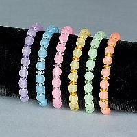 Plastic Beaded Bangles
